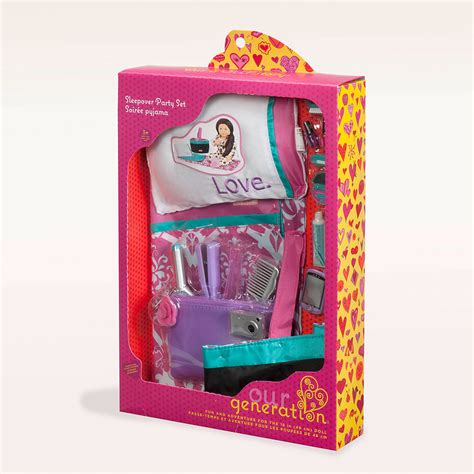 Set Og our generation sleepover set from our generation uk authorised reseller