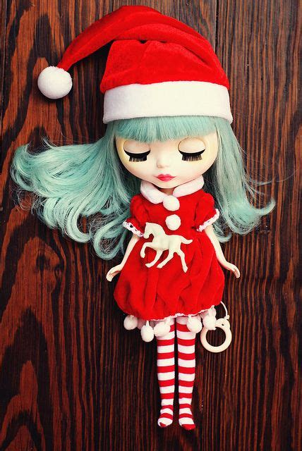 themes of cute dolls 23 best christmas blythe dolls images on pinterest