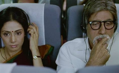biography of english vinglish just before sridevi s death was announced amitabh