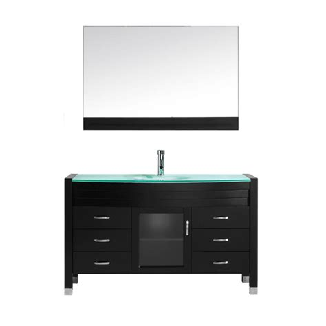 glass top vanity dennisbilt