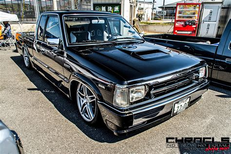 mazda b2200 turbo kit theme tuesdays mazda b2200s stance is everything