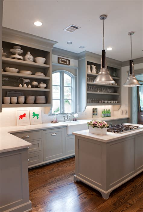 Fieldstone Kitchen Cabinets by Gray Kitchen Cabinets Transitional Kitchen Benjamin