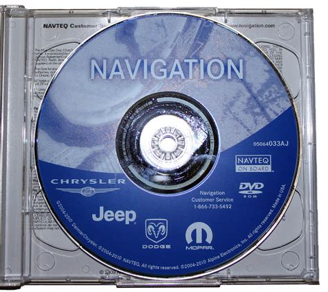 2011 Jeep Grand Navigation Update 2011 Chrysler Dodge Jeep Rb1 Navigation Update Disc