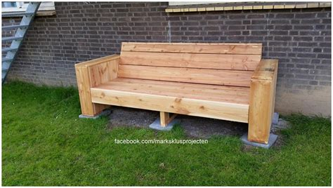 how to make a garden bench from a pallet diy pallet garden bench pallet furniture plans