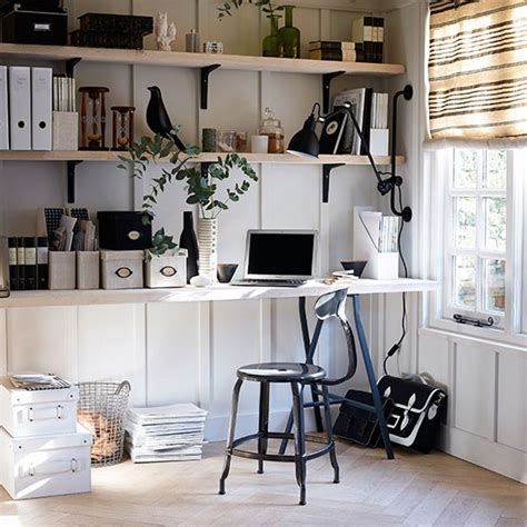 white and black home office housetohome co uk