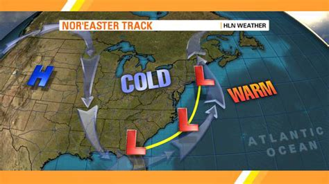 what is a nor easter in weather what makes a a nor easter hlntv