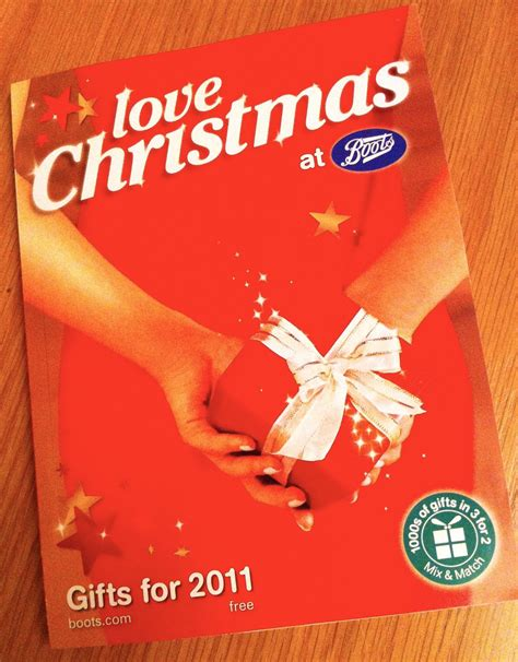 boots christmas 2011 brochure arrives
