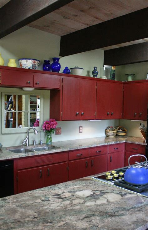 priming kitchen cabinets for painting reloved rubbish primer red chalk paint 174 kitchen cabinets