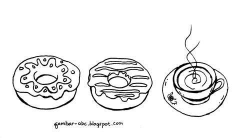 cara membuat donat menggunakan bahasa inggris mewarnai kue donat contoh gambar mewarnai