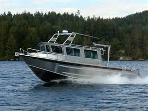 32 salish aluminum cabin boat by silver streak boats