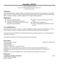 Citrix Administrator Sle Resume by Citrix Administrator Resume Exle Chico S Fas Inc Fort Myers Florida