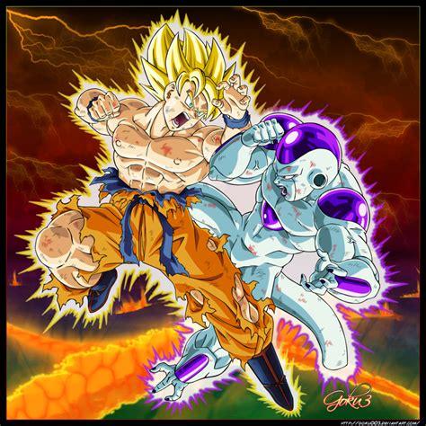 Goku Vs Frieza goku vs freeza by goku003 on deviantart