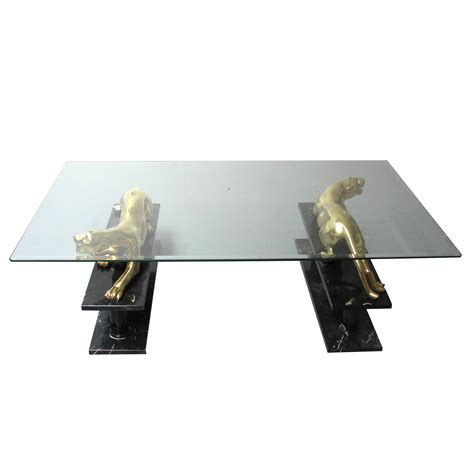 Panther Coffee Table Maison Jansen Panther Coffee Table Les Trois Gar 231 Ons