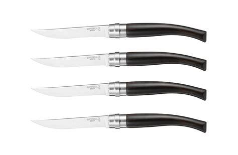 opinel steak knives opinel handle steak knife set 4 cutlery and