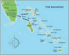 mapa miami y bahamas