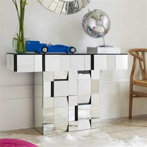 Mirrored Console Table And Coffee Table Designs, Stretching Small Spaces / design bookmark #20698