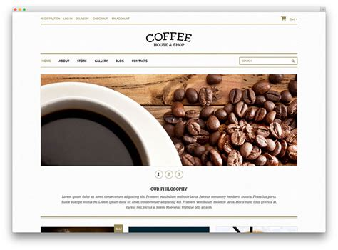 best coffee shop websites 38 best woocommerce themes to build awesome