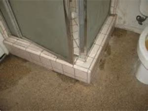 Shower Leaking To Floor Below by Shower Pan Leaking Quot What Lies Beneath Quot Dfw Improved