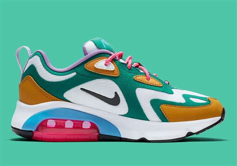 Nike Air Max 200 Mystic by Nike Air Max 200 Quot Mystic Green Quot Set To Drop Next Week Official Images