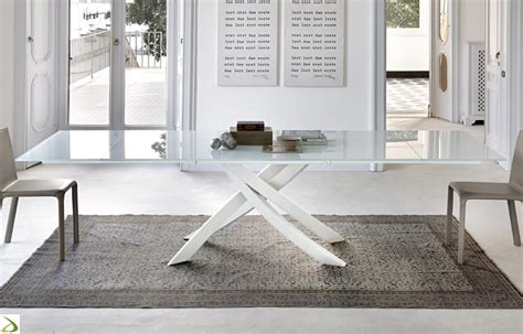 tavolo soggiorno allungabile tavolo allungabile artistico di bontempi arredo design