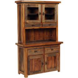 wood hutch rustic wyoming buffet w hutch reclaimed wood furniture