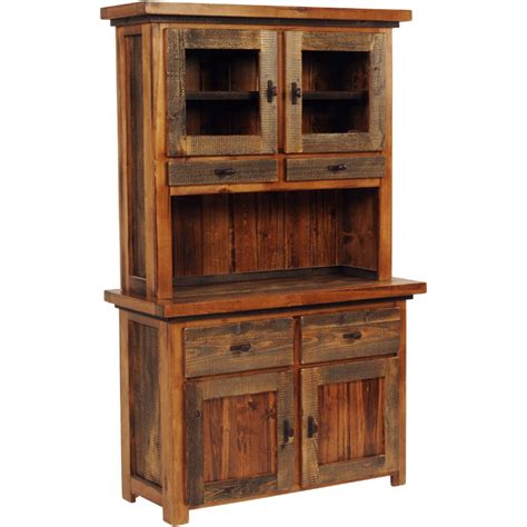 rustic buffet and hutch rustic wyoming buffet w hutch