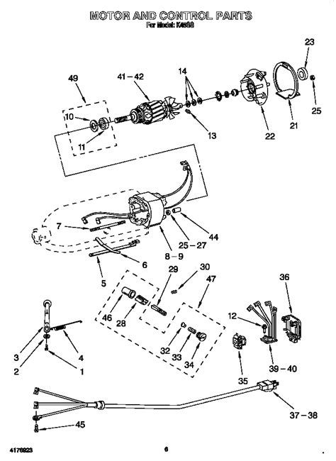 Kitchen Aid Parts. Kitchenaid Parts Mixer Sarkemnet With