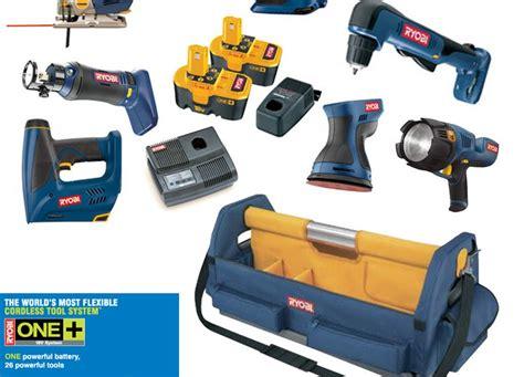 Ryobi Super Kit 8 Power Tools And 2 Batteries