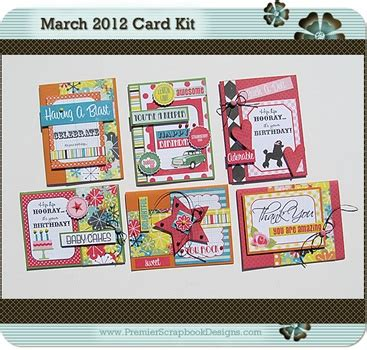 card monthly kits 126 best images about card kits on indigo