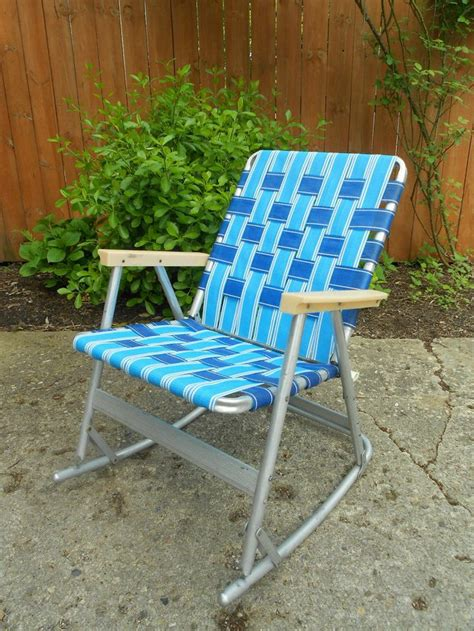 rocking chair design rocking lawn chair vintage webbed