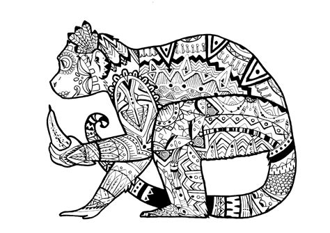 coloring pages for adults difficult animals coloring pages for adults difficult animals 46 coloring
