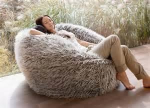 australias largest faux fur fluffy shaggy bean bag chairs