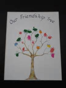 friendship tree template as a welcome to class project our kindergarten class made