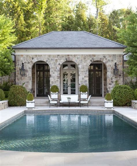 backyard pool houses gardens pool houses and beautiful on pinterest