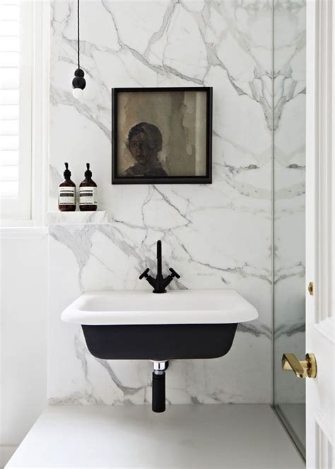 wall mounted marble sink wall mount sink marble bathrooms