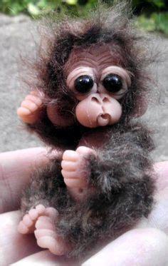 reborn doll house reborn solid silicone chimpanzee monkey primate ape art doll baby gorilla monkey
