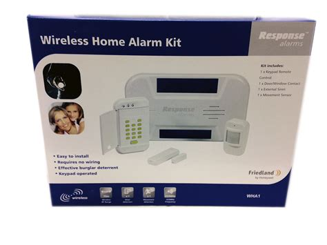 friedland response wha1 wireless home alarm kit brand new
