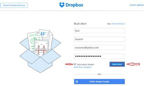 dropbox masuk cara membuat akun dropbox cari2 cara