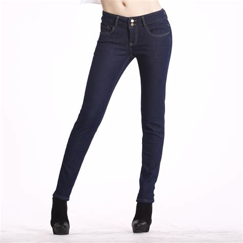 colored jeans in 2015 h04 2015 stretch jeans for women winter warm pants female