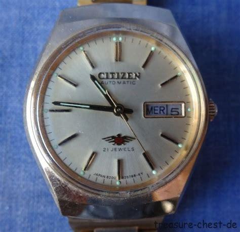 Citizen Automatic Vintage vintage citizen eagle 7 automatic mens 8200 21j