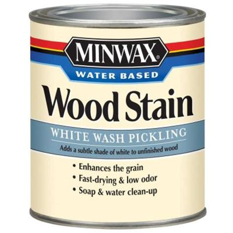 Benjamin Moore Exterior Paint Finishes - minwax 1 qt white wash pickling water based stain 61860 the home depot