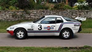 in car pristine porsche 924 martini rally car up for grabs in new