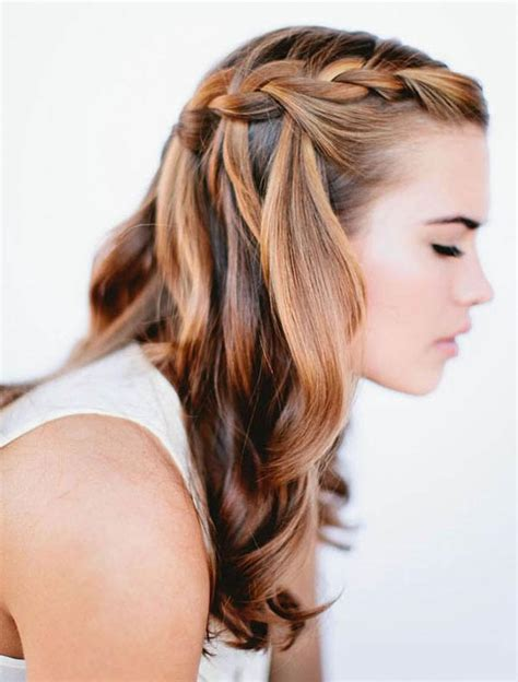 hairstyles half braids beautiful and easy braided hairstyles for different types