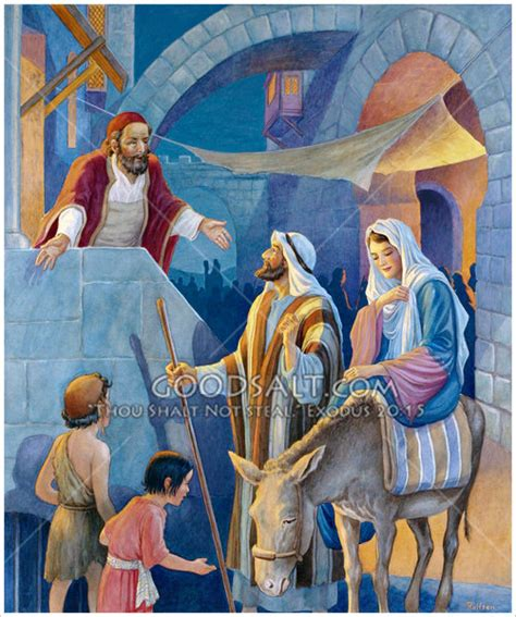 no room at the inn for mary and joseph and the donkey no room in the inn