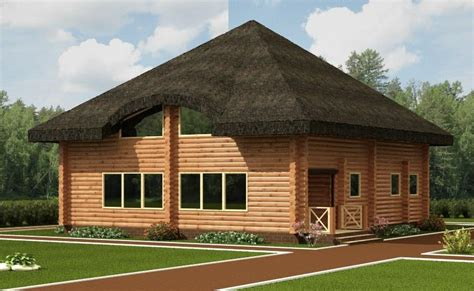 Thatched Roof Home Plans House Design Plans Thatched Roof House Plans