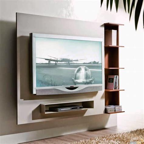 Bien Meuble Suspendu Salon Design #1: Décoration-Télévision-Murale-Collection-Et-Meuble-Tv-Suspendu-Salon-Photo.jpg
