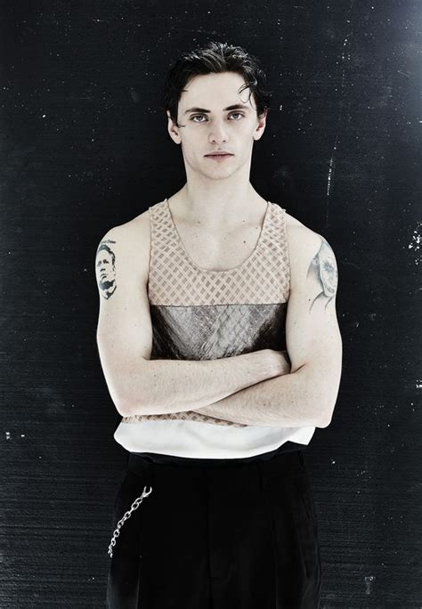 sergei polunin tattoos sergei polunin ballet dancer royal ballet s youngest