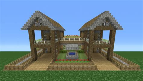 minecraft survival house minecraft tutorial how to make a small survival house 5 including exterior youtube