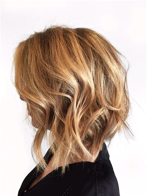 what is a soft undercut angeles soft undercut bob and balayage highlight by