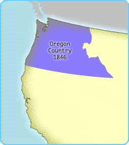oregon country map 1846 interactives united states history map the nation expands